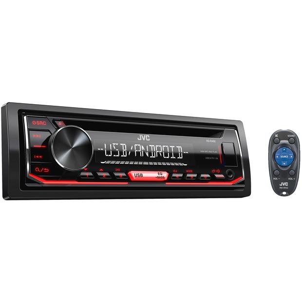 USB/MP3/CD/Android-ресивер - JVC KD-R492
