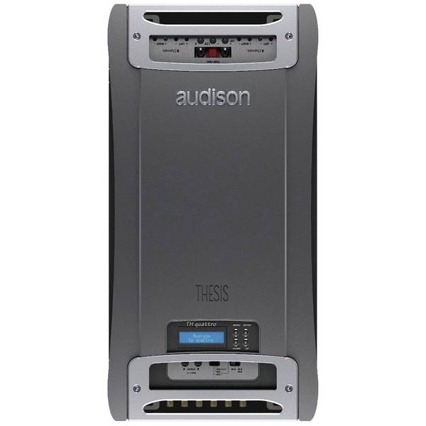 audison thesis th 4 Audison thesis th quattro the thesis th amplifiers are manufactured using state-of-the-art analog and digital technology.