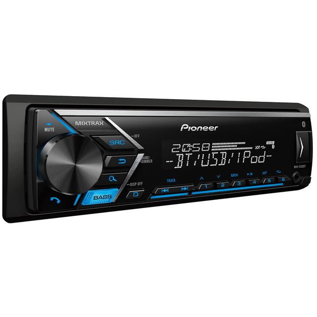 USB/MP3/iPod/Android-ресивер, Iphone/Android, Bluetooth - Pioneer MVH-S305BT