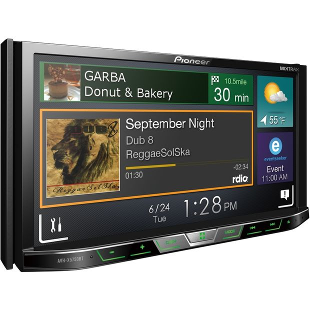DVD/USB/MP3/CD/iPod/Android-ресивер, Bluetooth - Pioneer AVH-Z2050BT