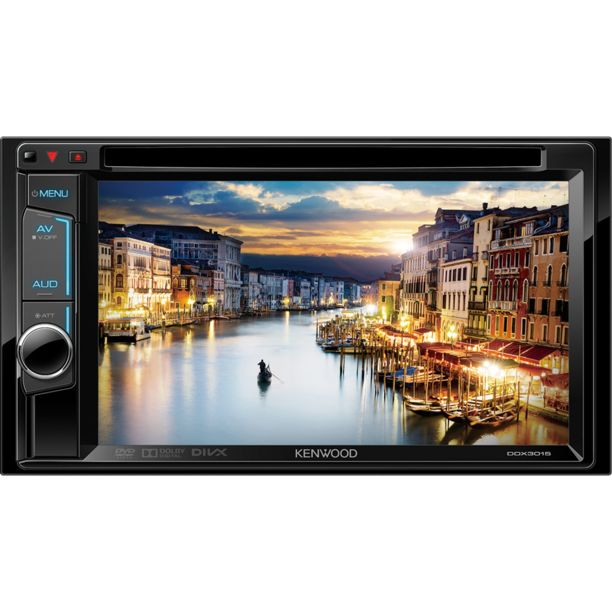 DVD/USB/MP3/CD/iPod/Android-ресивер - Kenwood DDX3015R